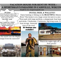Cassville House Flyer with Email