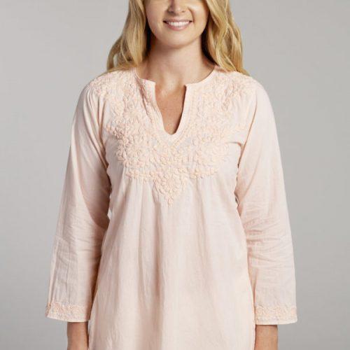 laila-lily-peach-long-regular-fit-cotton-short-womens-clothing3-600x600     2