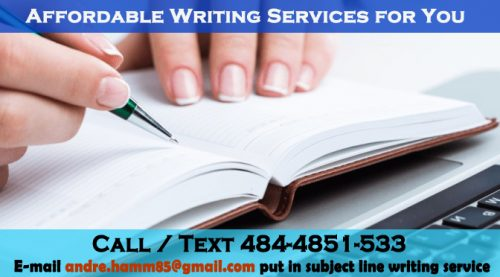 Affordable Writing Service
