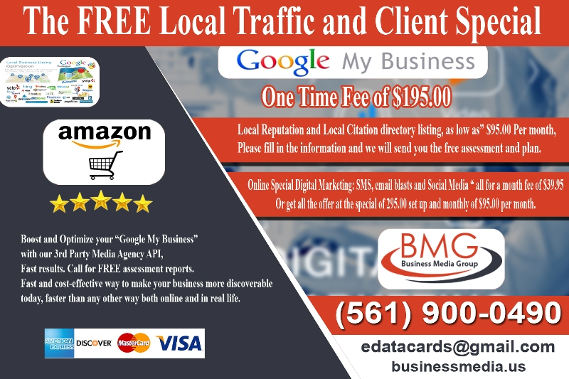 Free local traffic with Google Local SEO Local Directories