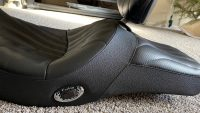 BMW R1200RT, R1200 RT, 2005-2013 Corbin Low Seat Heated With Backrest