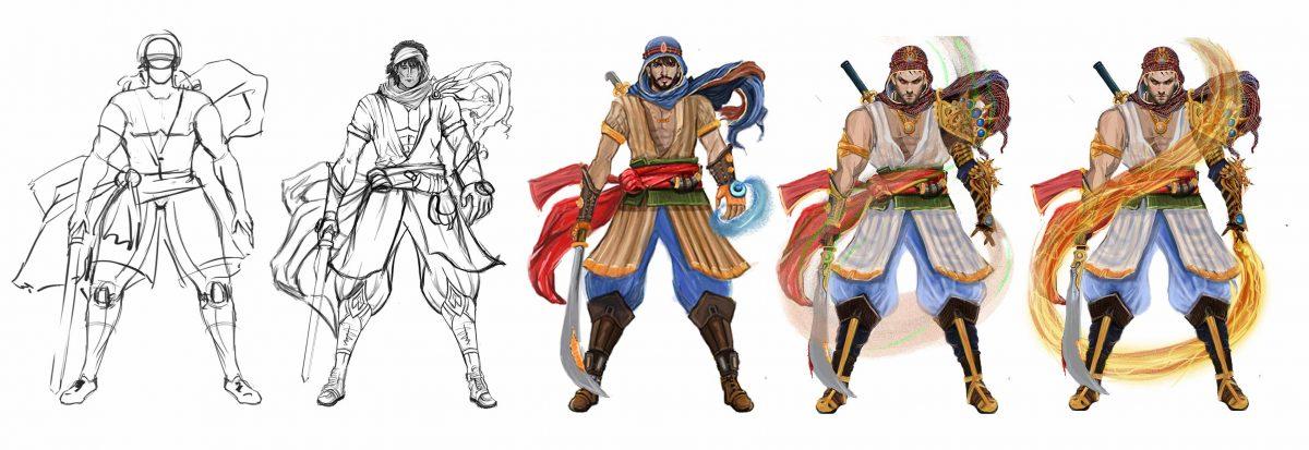 2D-3D-concept-art-character
